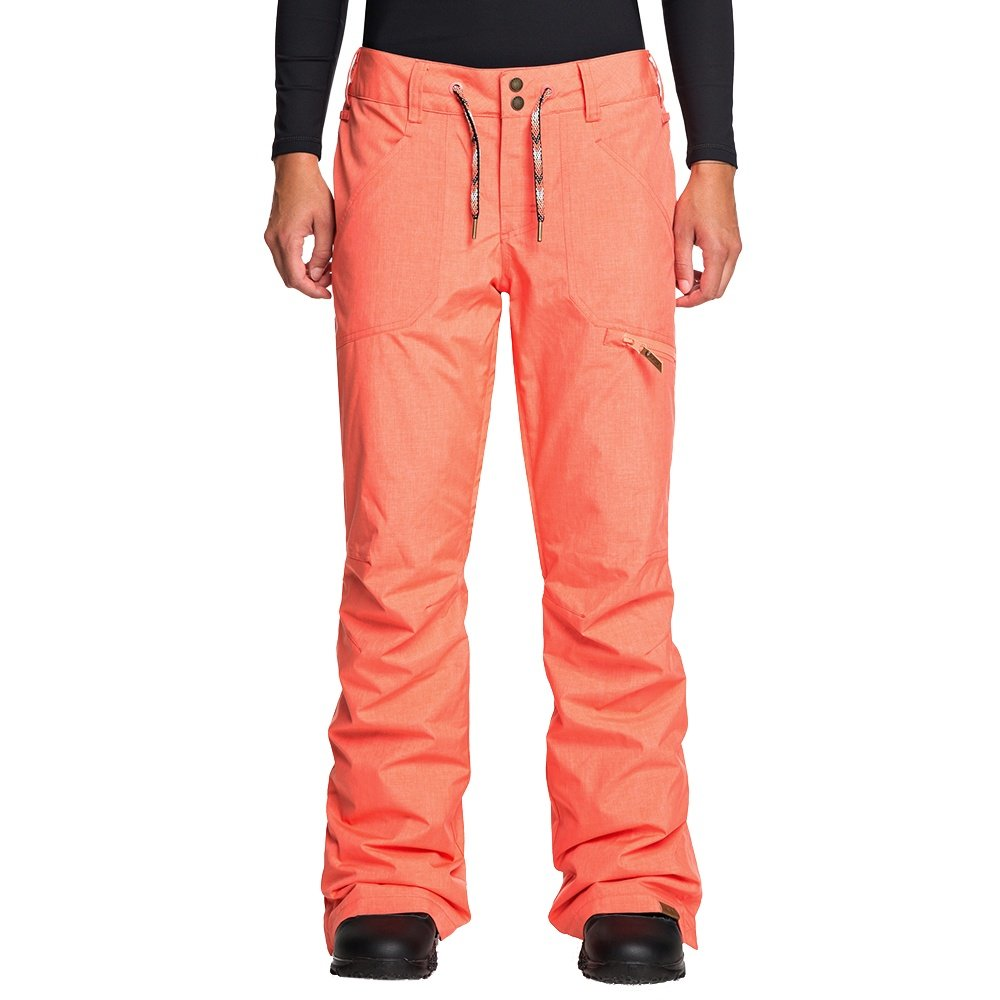Roxy Nadia Insulated Snowboard Pant (Women's) - Living Coral
