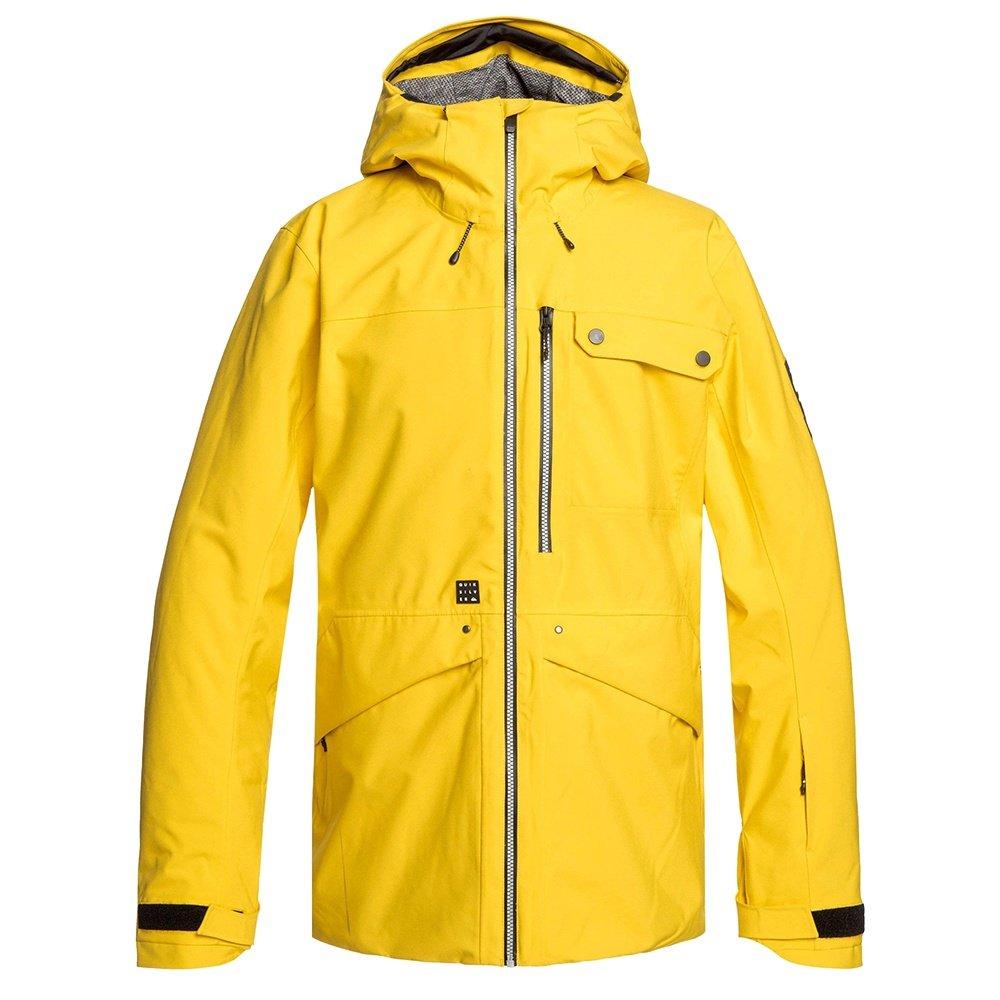 Quiksilver Snowspindye Insulated Snowboard Jacket (Men's) - Sulphur