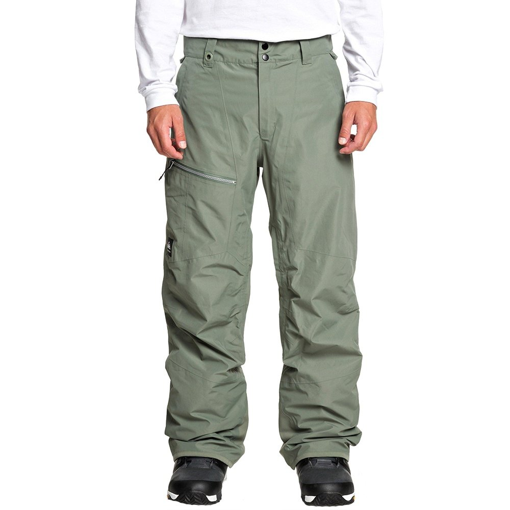 Quiksilver Forever 2L GORE-TEX Shell Snowboard Pant (Men's) - Agave Green