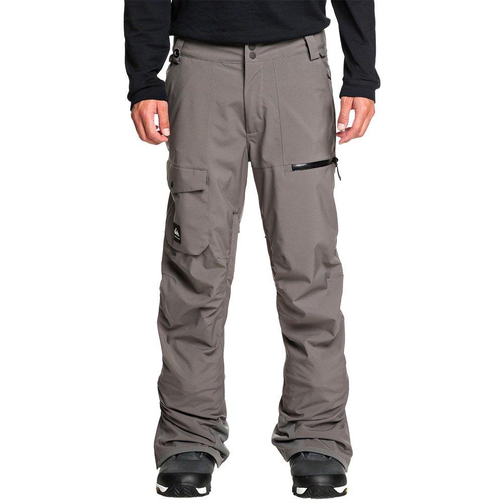 Quiksilver Utility Stretch Shell Snowboard Pant (Men's) - Castlerock