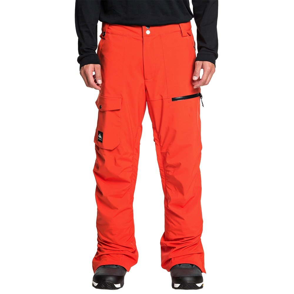Quiksilver Utility Stretch Shell Snowboard Pant (Men's) - Poinciana
