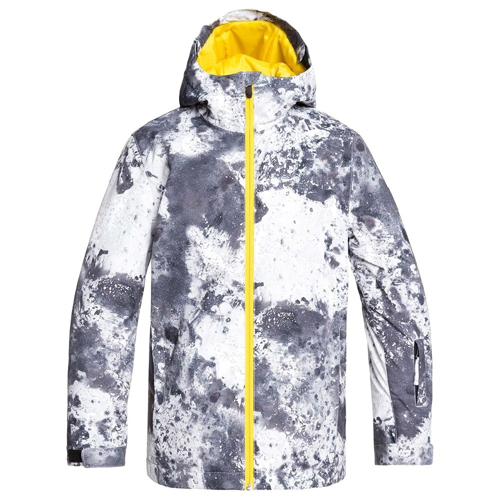 Quiksilver Mission Printed Insulated Snowboard Jacket (Boys') - Castle Rock Splash