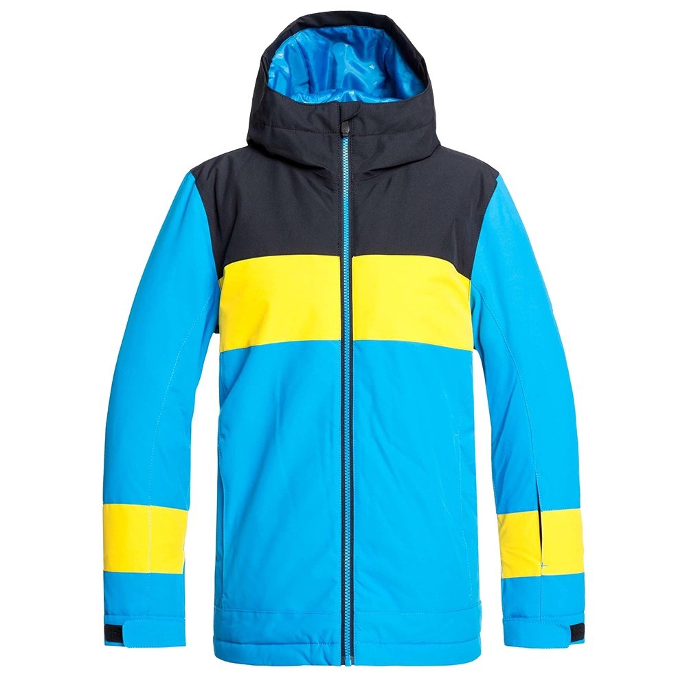 Quiksilver Sycamore Insulated Snowboard Jacket (Boys') - Cloisonne