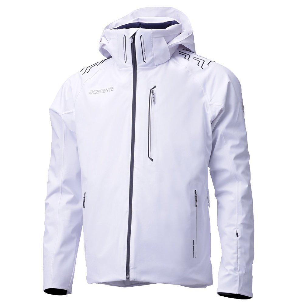 Descente Finnder Insulated Ski Jacket (Men's) - Super White Jacquard