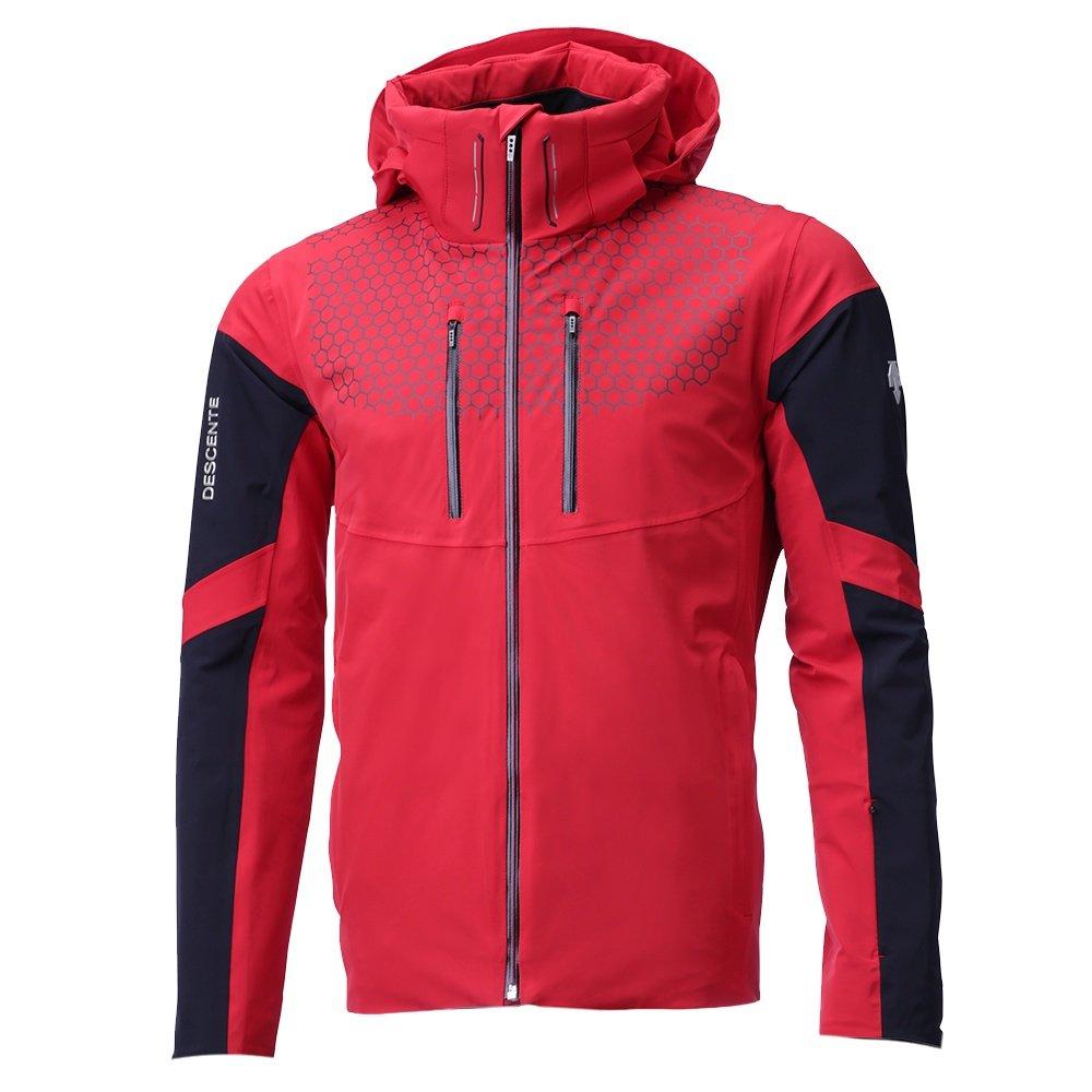Descente Swiss Ski Team Insulated Ski Jacket (Men's) - Electric Red /Black
