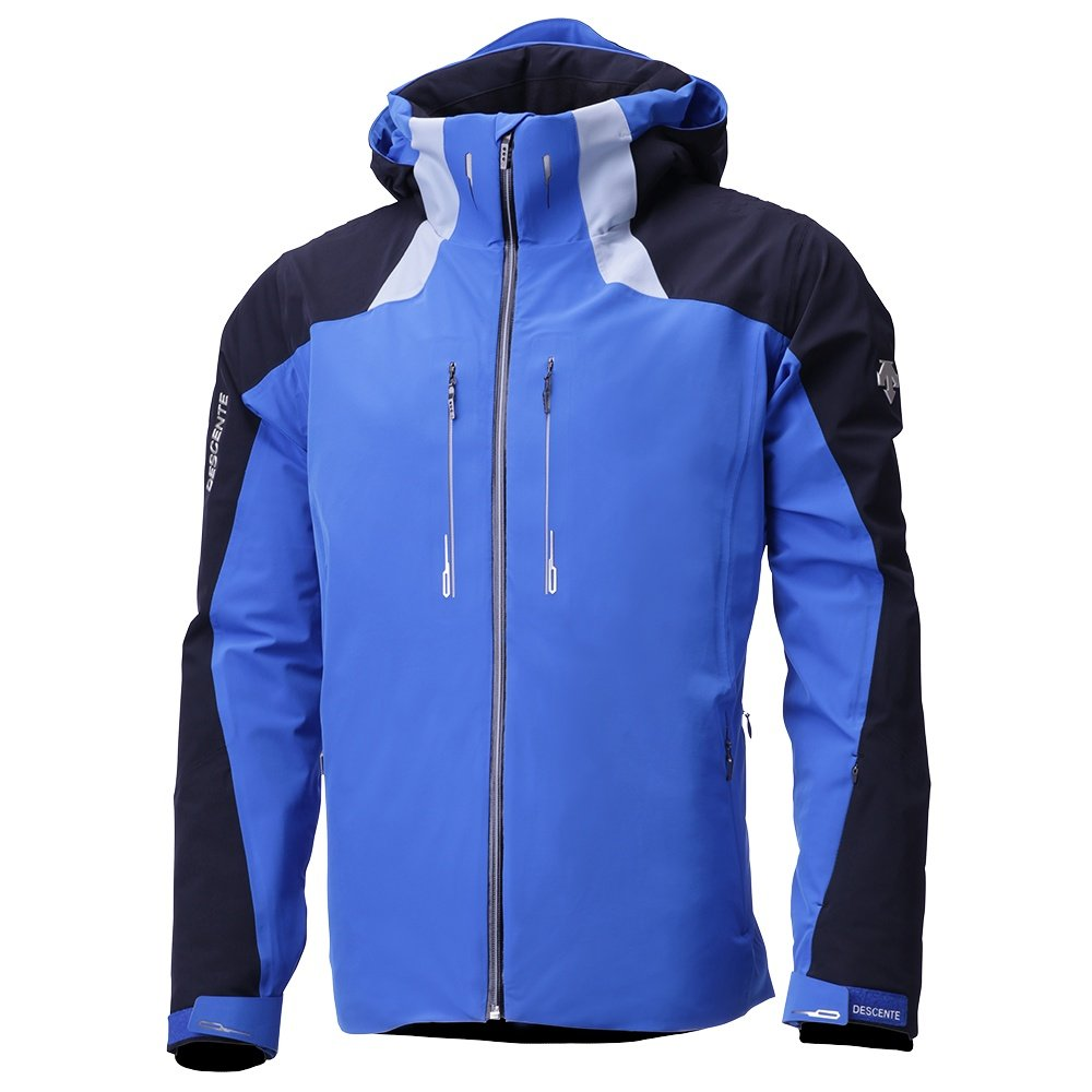 Descente Reign Insulated Ski Jacket (Men's) - Victory Blue/Titanium/Black
