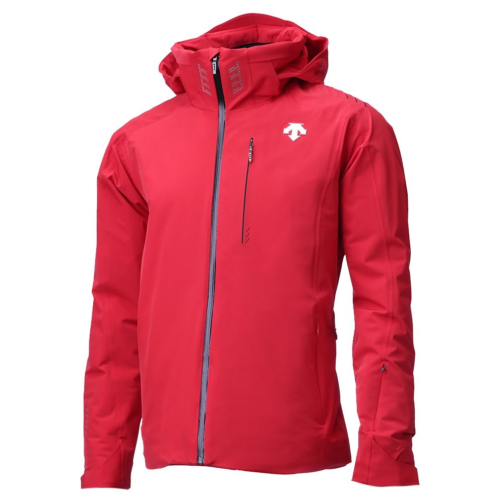 Descente Regal Insulated Ski Jacket (Men's) - Electric Red /Black