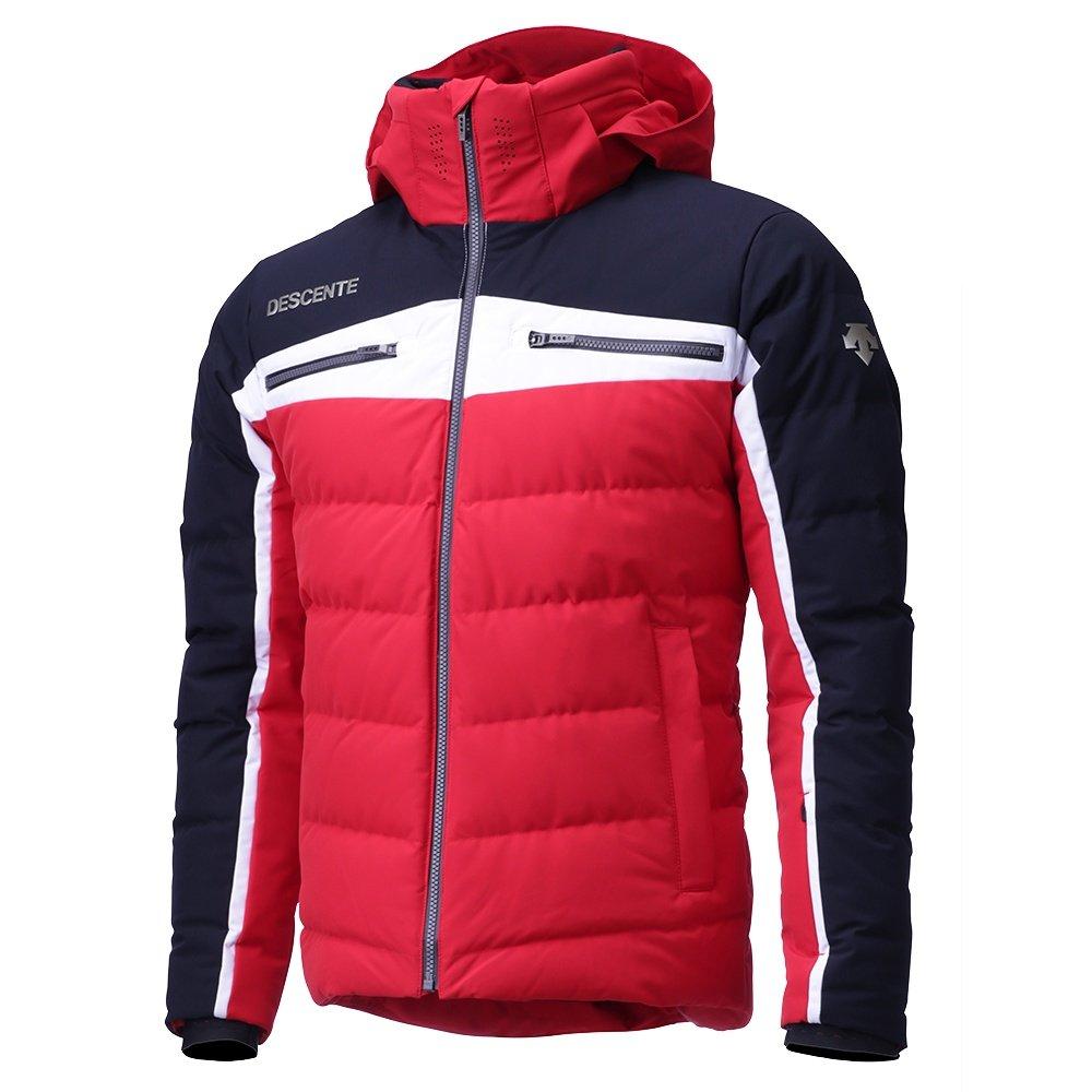 Descente Deon Down Ski Jacket (Men's) - Electric Red/Black/Super White