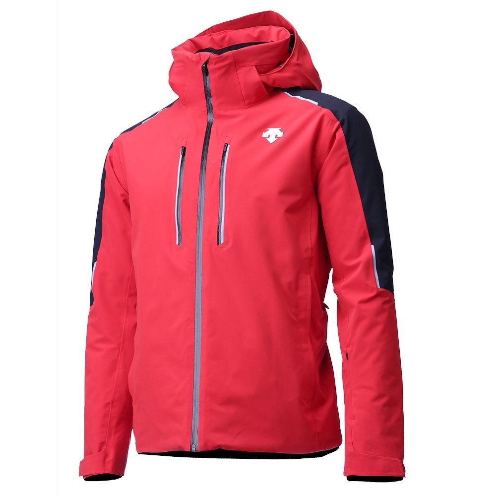 Descente Challenger Insulated Ski Jacket (Men's) - Electric Red/Black/Titanium