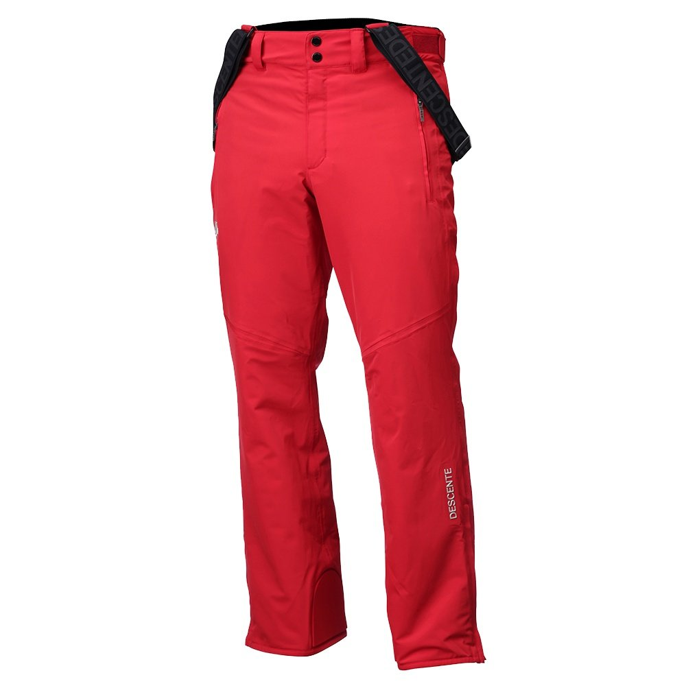 Descente Swiss Ski Team Insulated Ski Pant (Men's) - Electric Red
