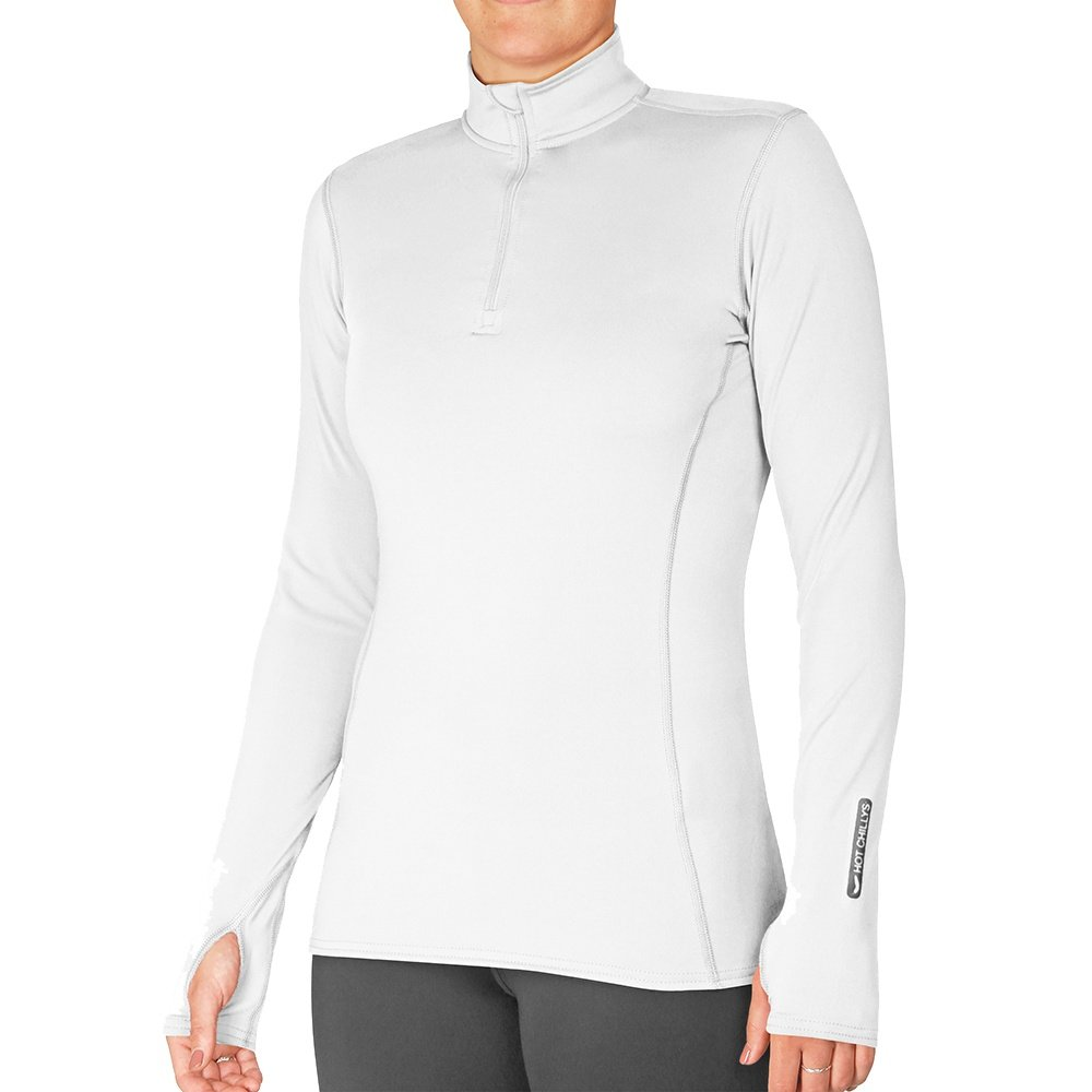 Hot Chillys Zip-T Baselayer Top (Women's) - White