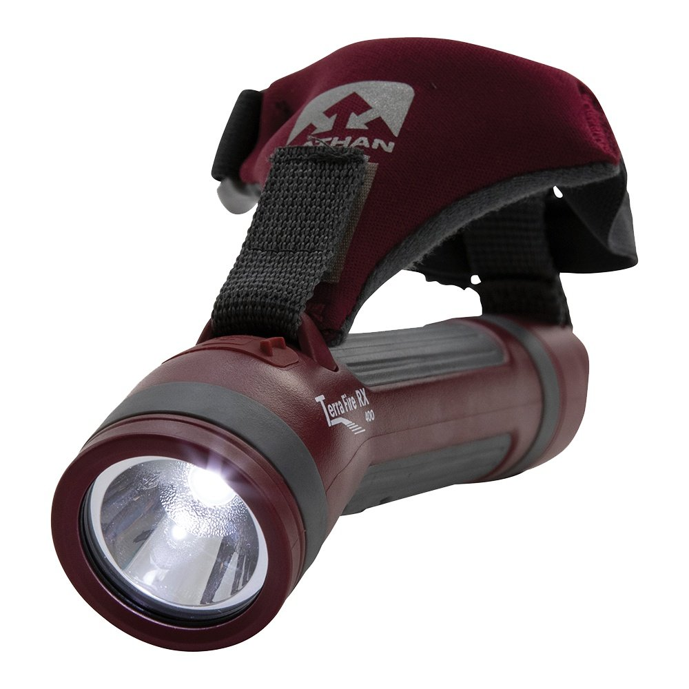Nathan Terra Fire 400 RX Hand Torch Light - Red Dahlia/Castlerock