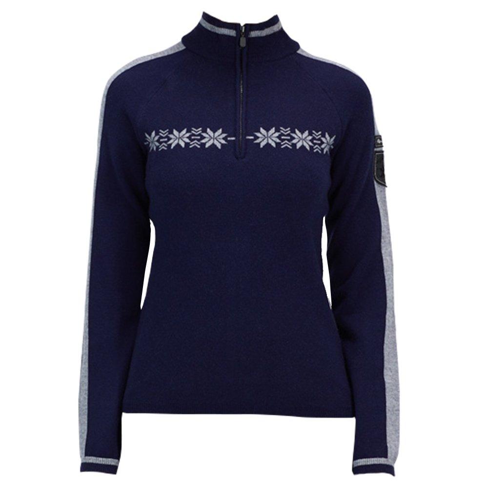Alp-N-Rock Karlie 1/2-Zip Sweater (Women's) - Sapphire