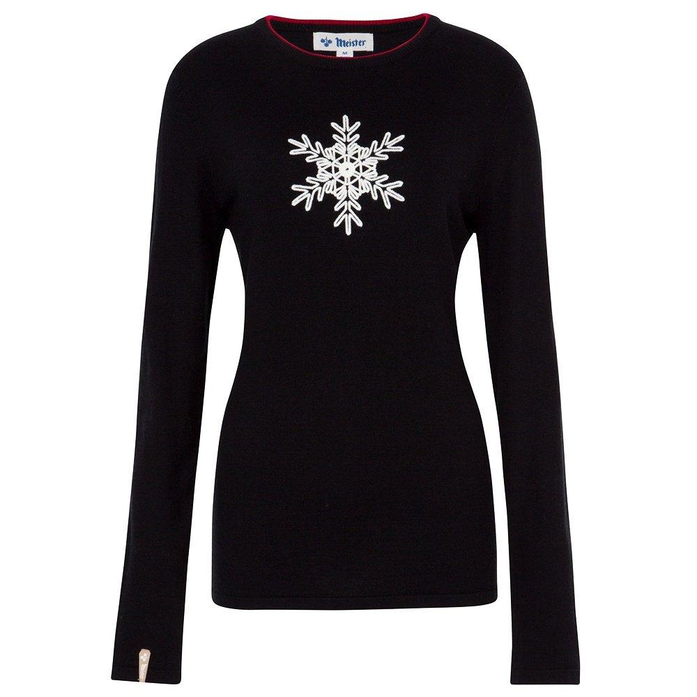 Meister Noel Snowflake Crewneck Sweater (Women's) -