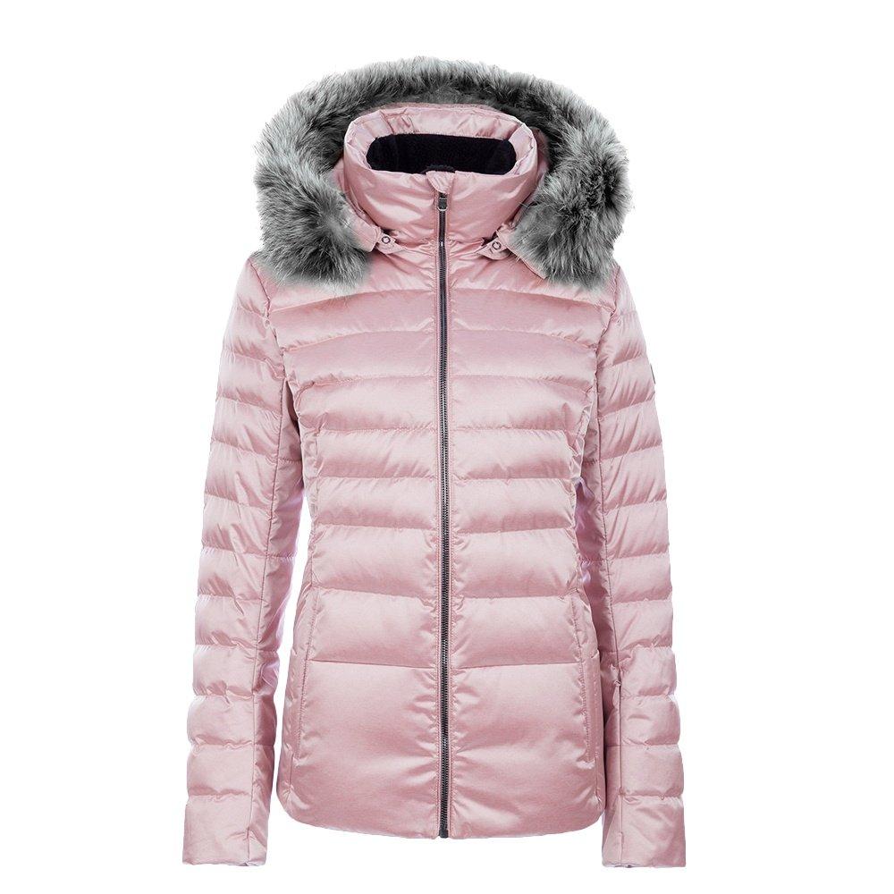 Fera Julia Down Ski Parka with Real Fur (Women's) - Rose Quartz