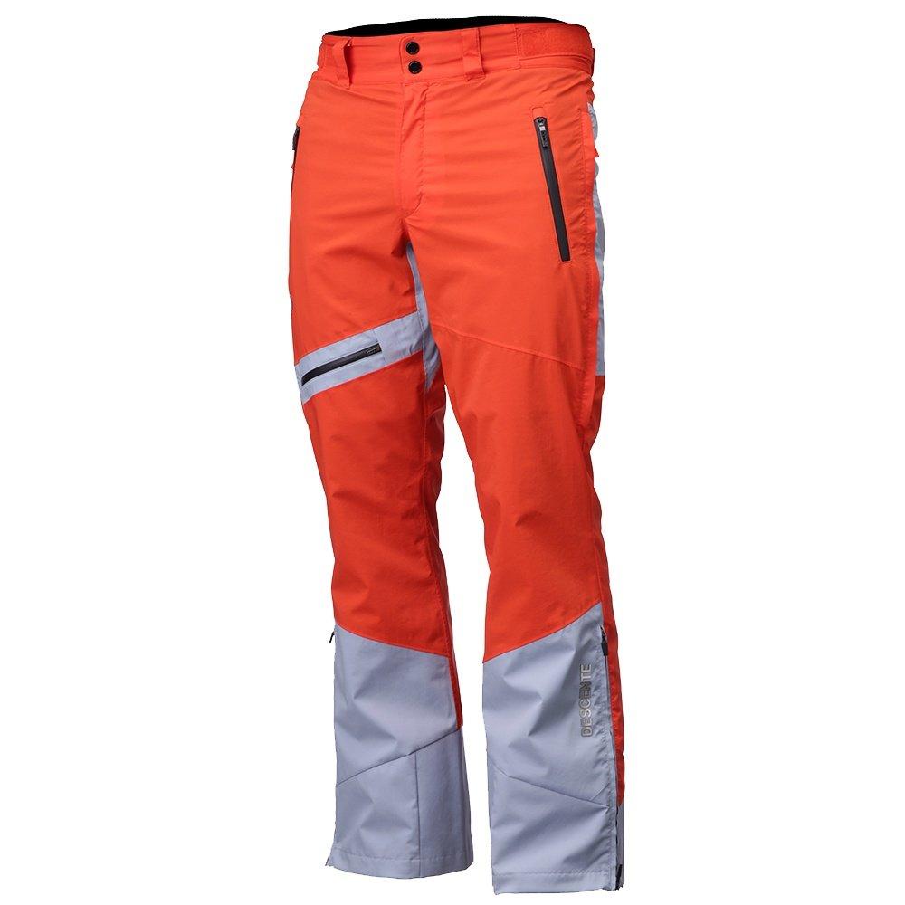 Descente CID Ski Pant (Men's) - Orange/Titanium