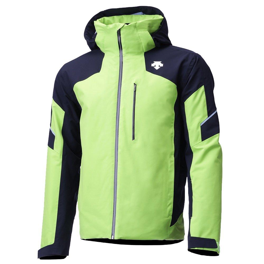 Descente Slade Insulated Ski Jacket (Men's) - Lime Green/Black/Titanium