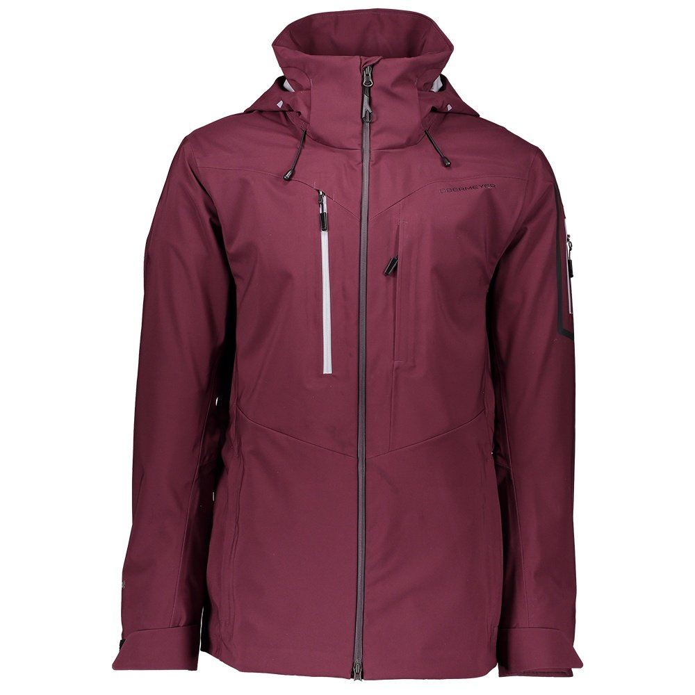 Obermeyer Foraker Shell Ski Jacket (Men's) - Wine Not