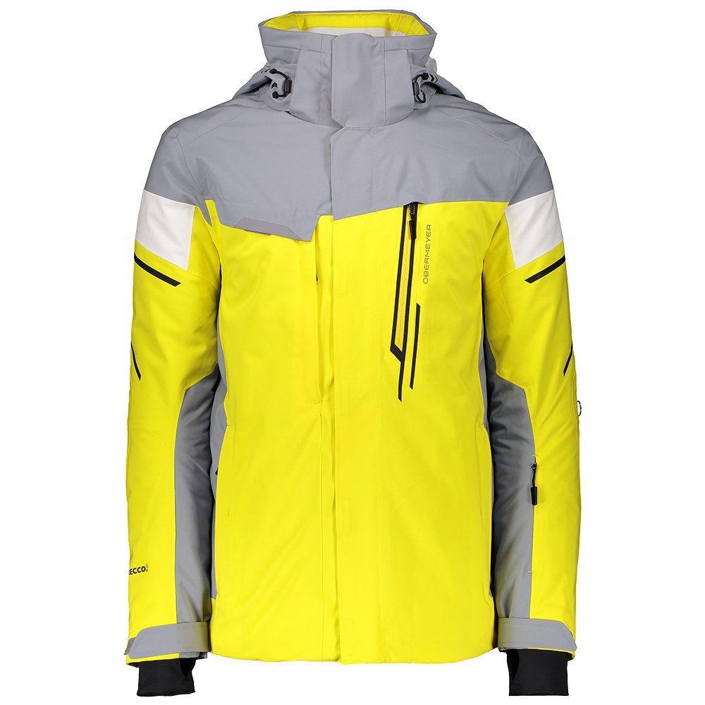 Obermeyer Kenai Insulated Ski Jacket (Men's) - Tartrazine