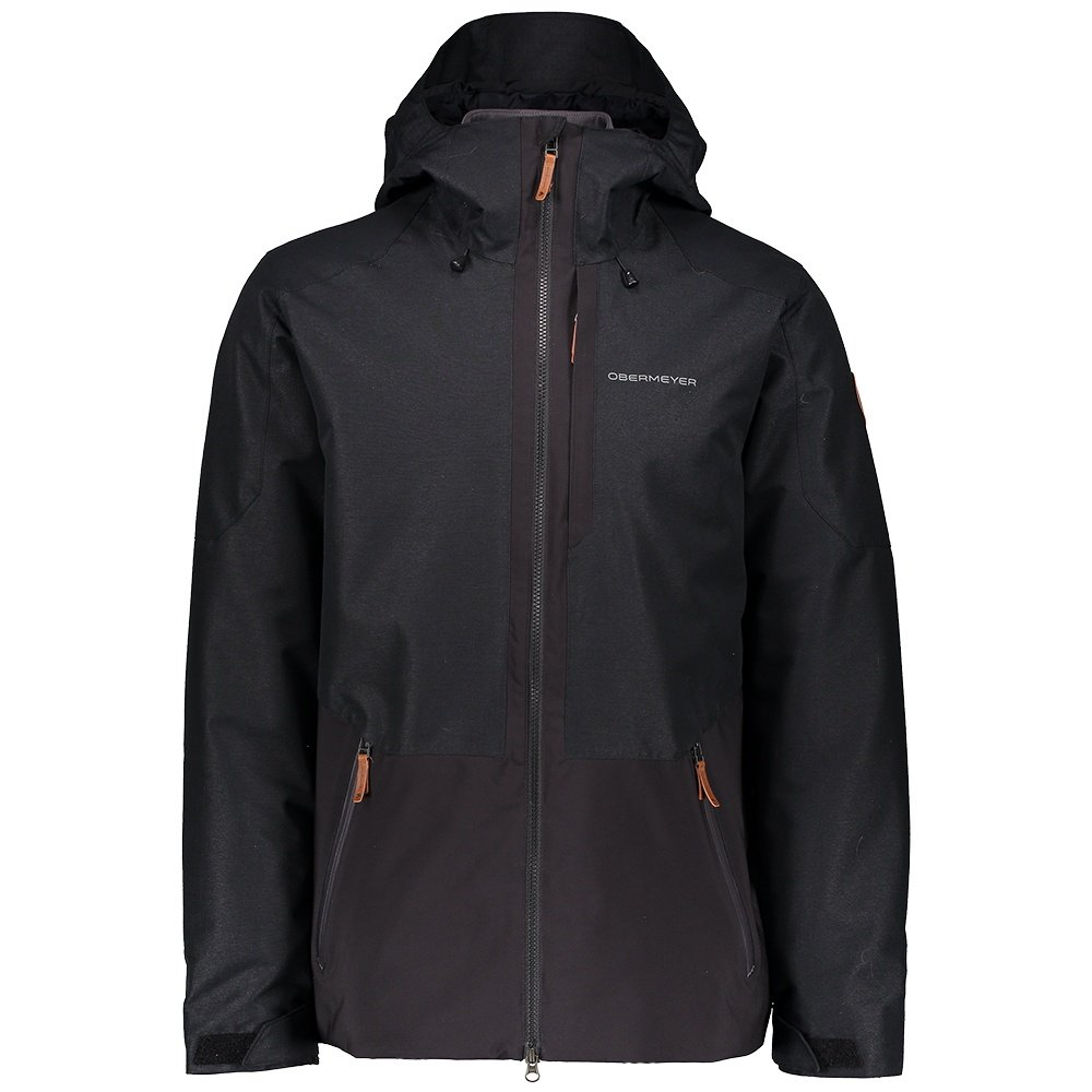 Obermeyer Chandler Shell Ski Jacket (Men's) - Black