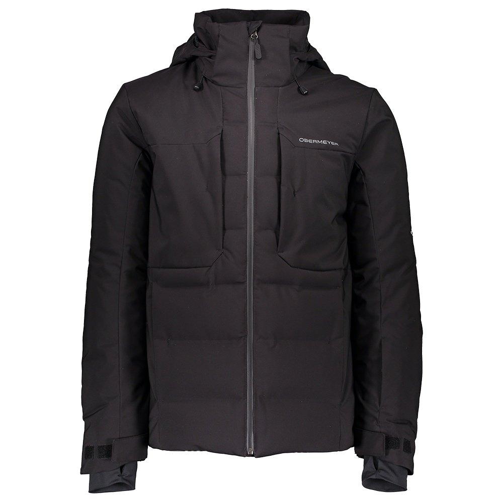 Obermeyer Rex Down Hybrid Ski Jacket (Men's) - Black