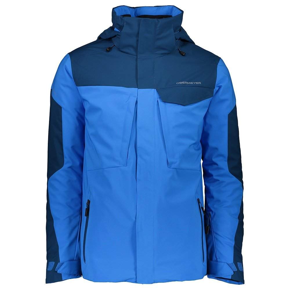 Obermeyer Trilogy System Insulated Ski Jacket (Men's) - Blue Vibes