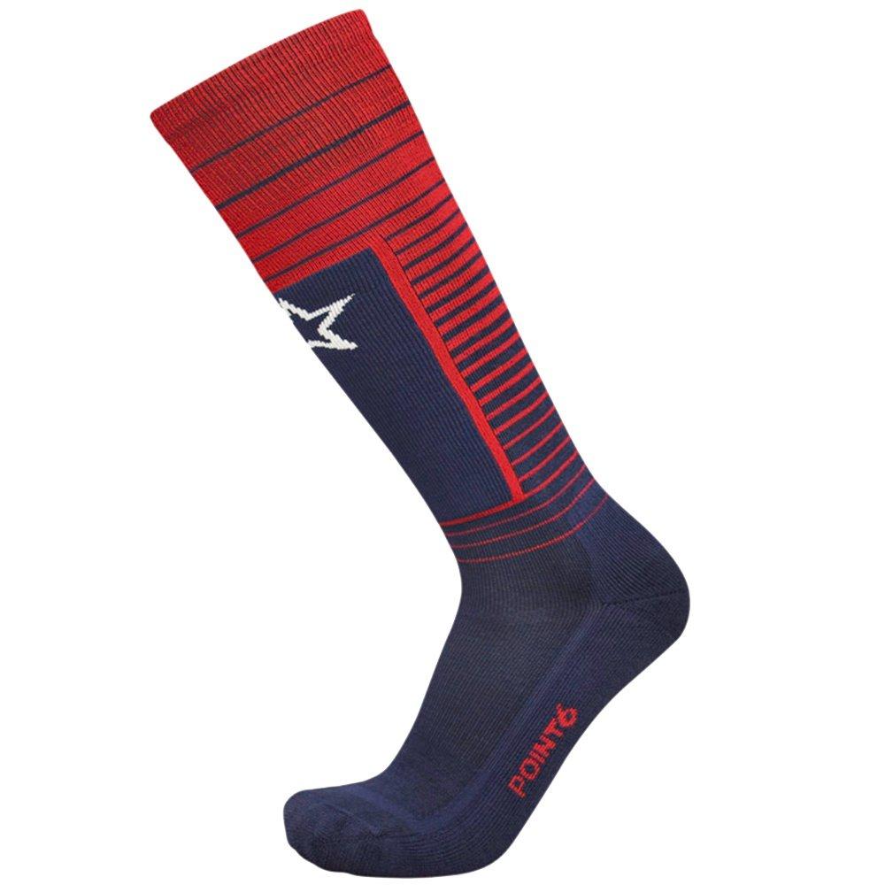 Point6 USA Light Ski Sock (Adults') - Dark Navy