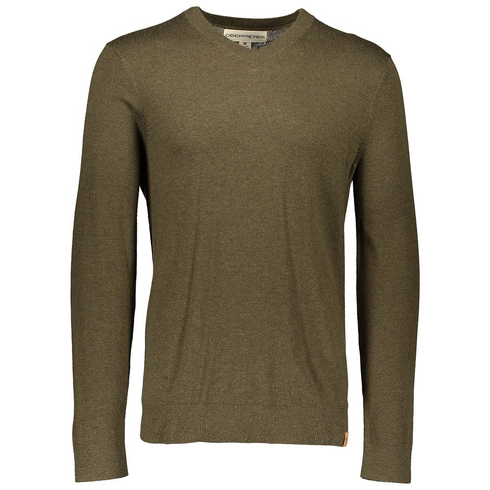 Obermeyer Mason V-Neck Sweater (Men's) - Military Time