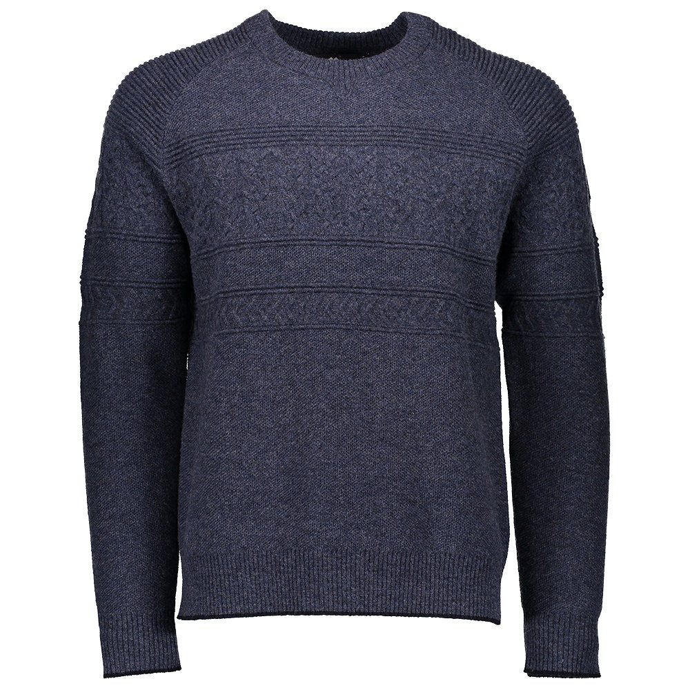 Obermeyer Textured Crewneck Sweater (Men's) - Trident