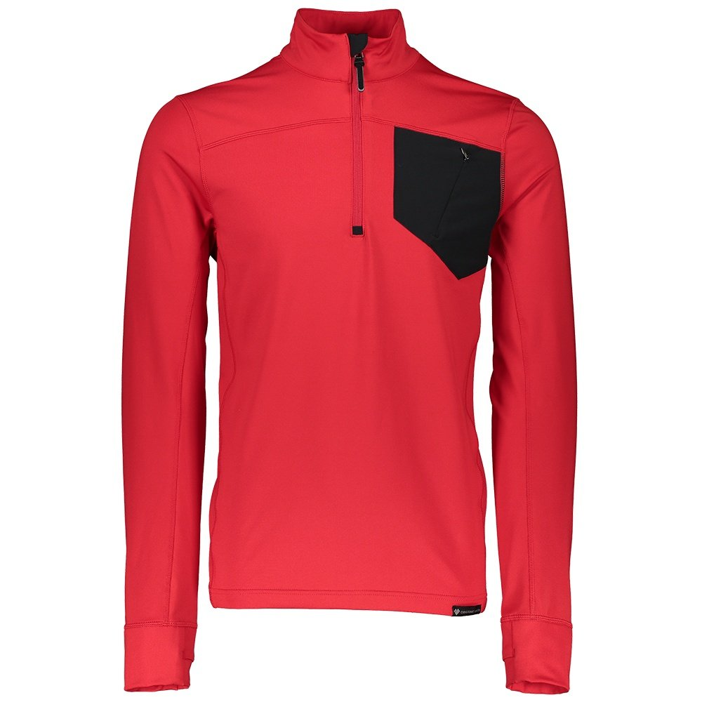 Obermeyer Flex 1/4-Zip Baselayer Top (Men's) - Brakelight