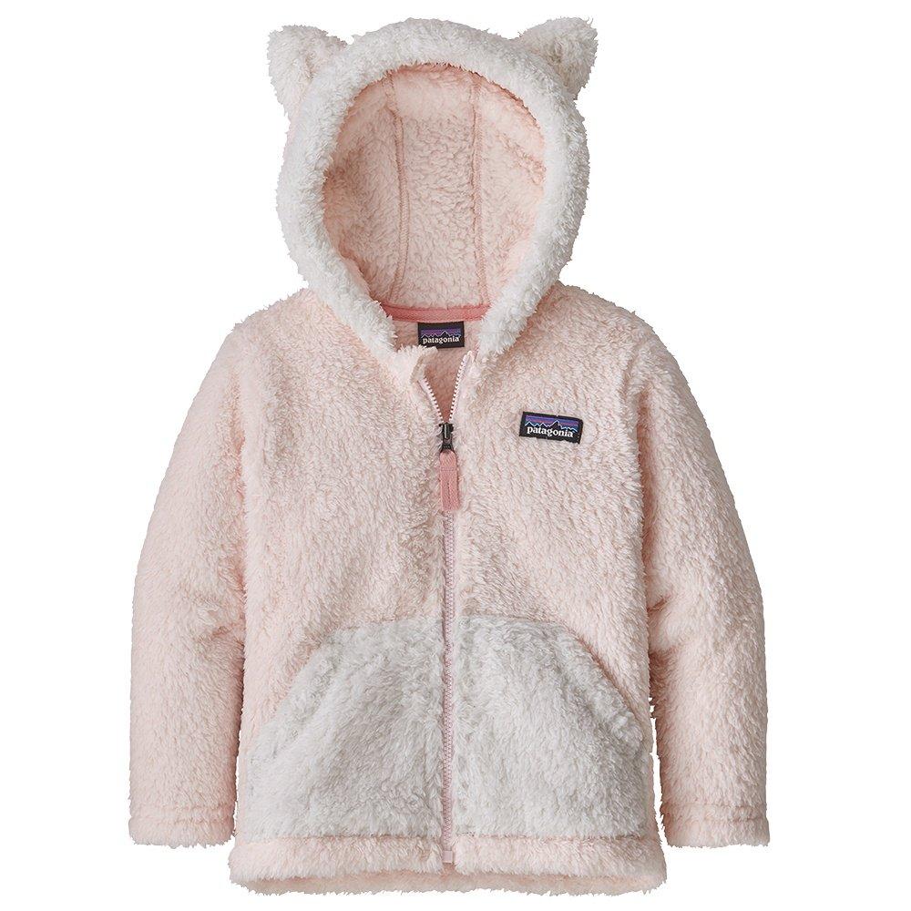 Patagonia Furry Friend Hoody Fleece Top (Little Kids') - Prima Pink