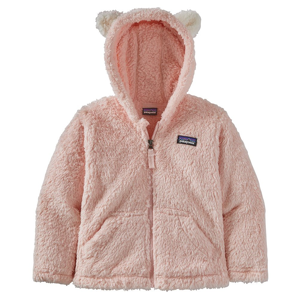 Patagonia Furry Friend Hoody Fleece Top (Little Kids') - Sea Fan Pink