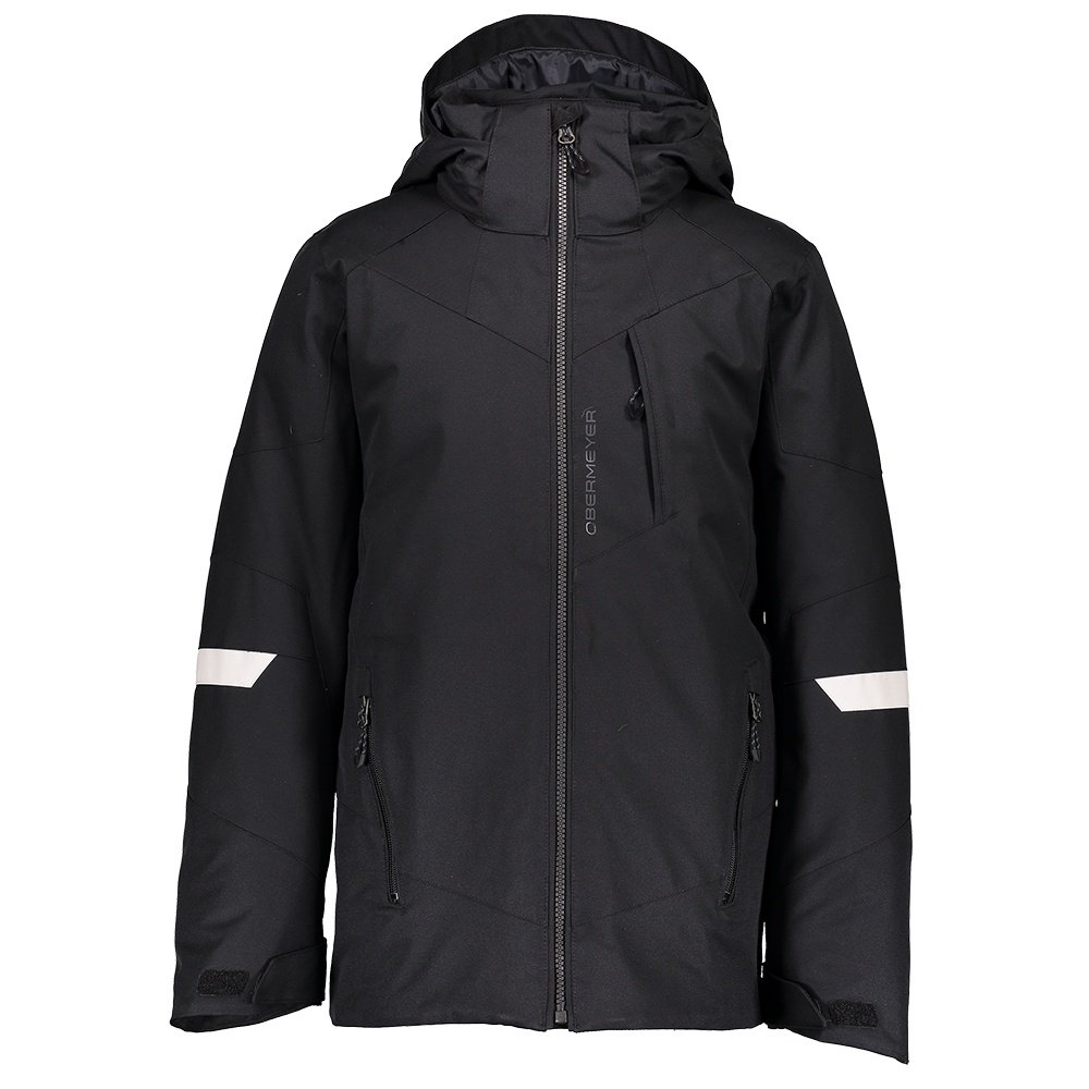 Obermeyer Fleet Insulated Ski Jacket (Boys') - Black