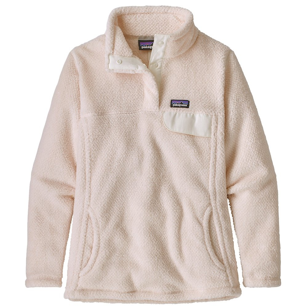 Patagonia Re-Tool Snap-T Pullover Fleece Top (Girls') - Prima Pink
