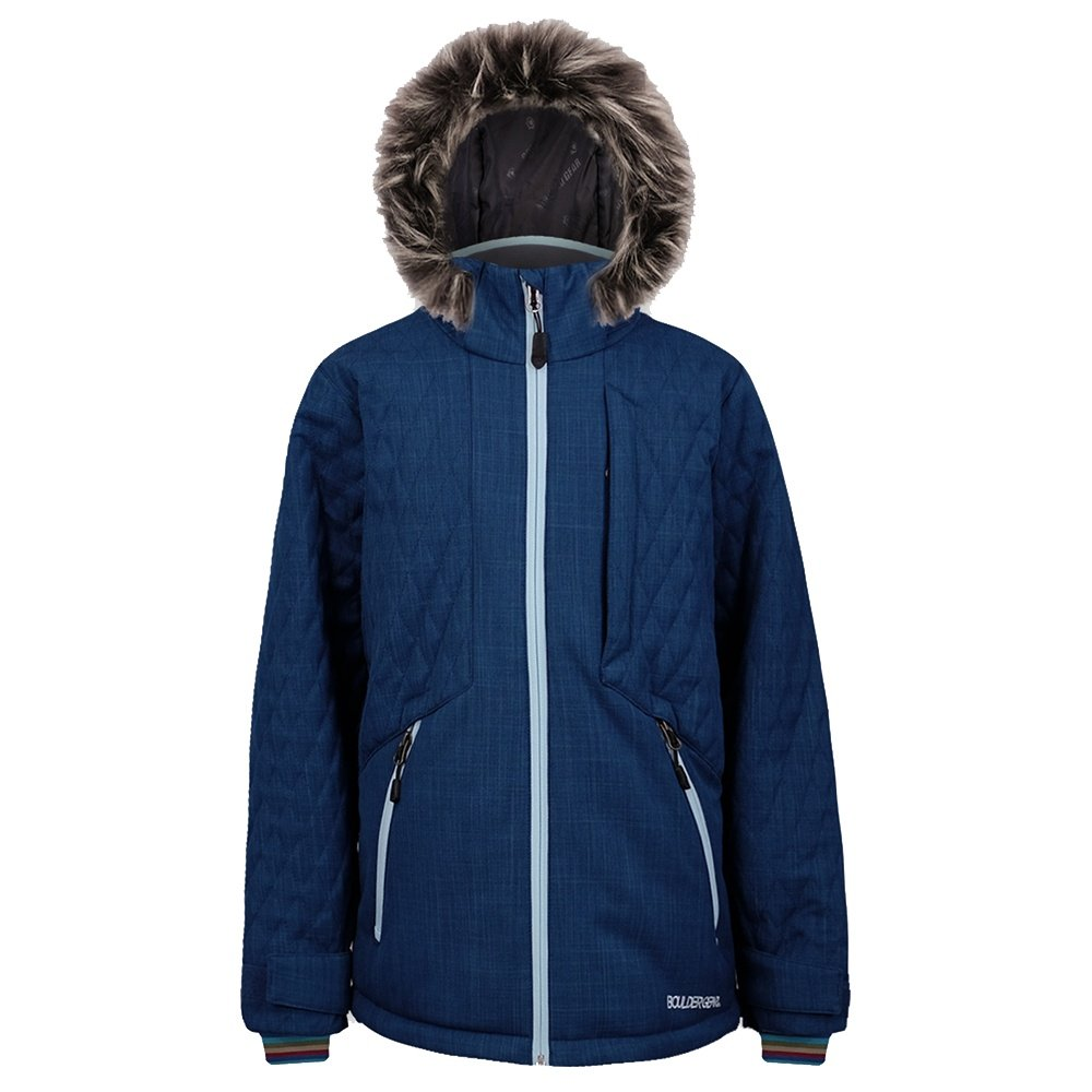 Boulder Gear Spruce Insulated Ski Jacket (Girls') - Deep Ocean