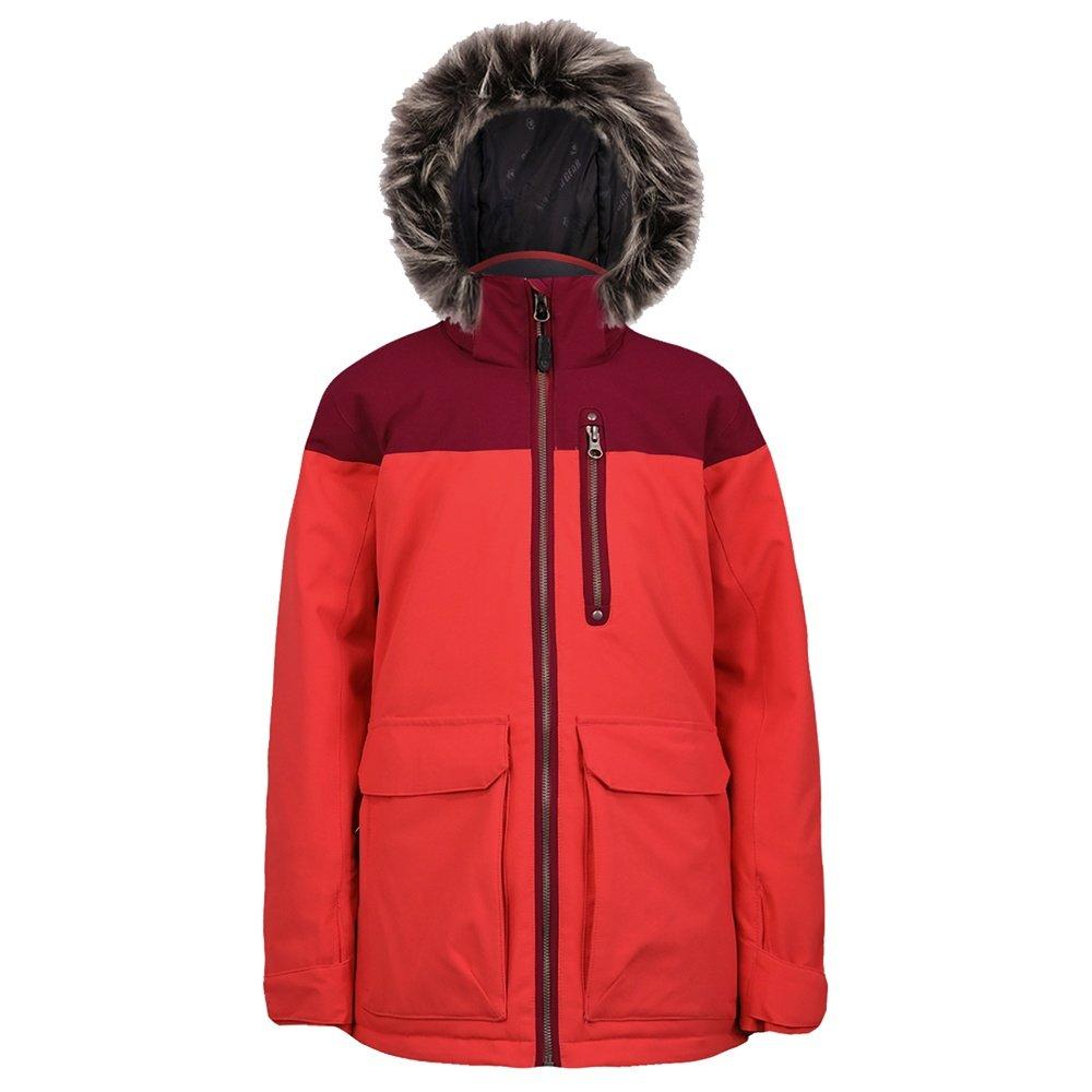 Boulder Gear Hemlock Insulated Ski Jacket (Girls') - Hibiscus