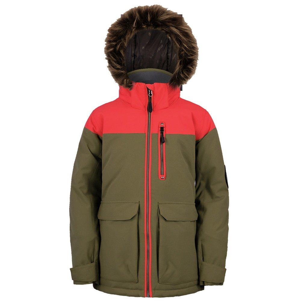 Boulder Gear Hemlock Insulated Ski Jacket (Girls') - Olive Branch
