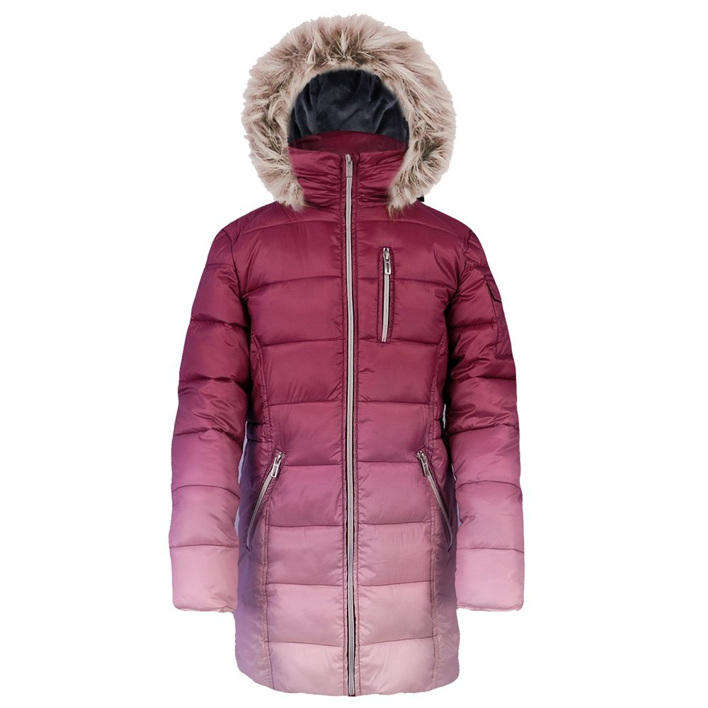 Boulder Gear Sycamore Puffy Coat (Girls') - Cranberry