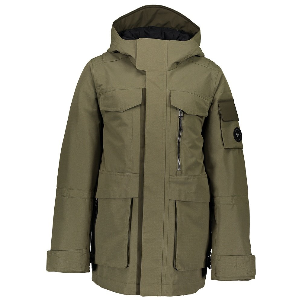 Obermeyer Colt Insulated Ski Jacket (Boys') - Military Time