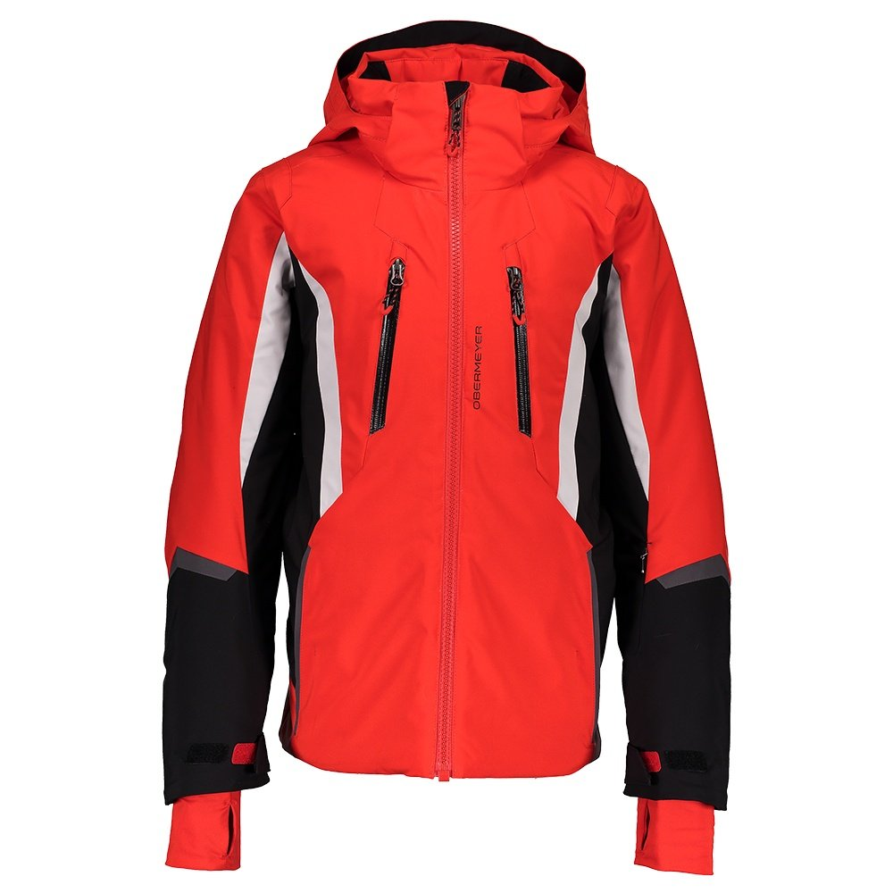 Obermeyer Mach 10 Insulated Ski Jacket (Boys') - Red