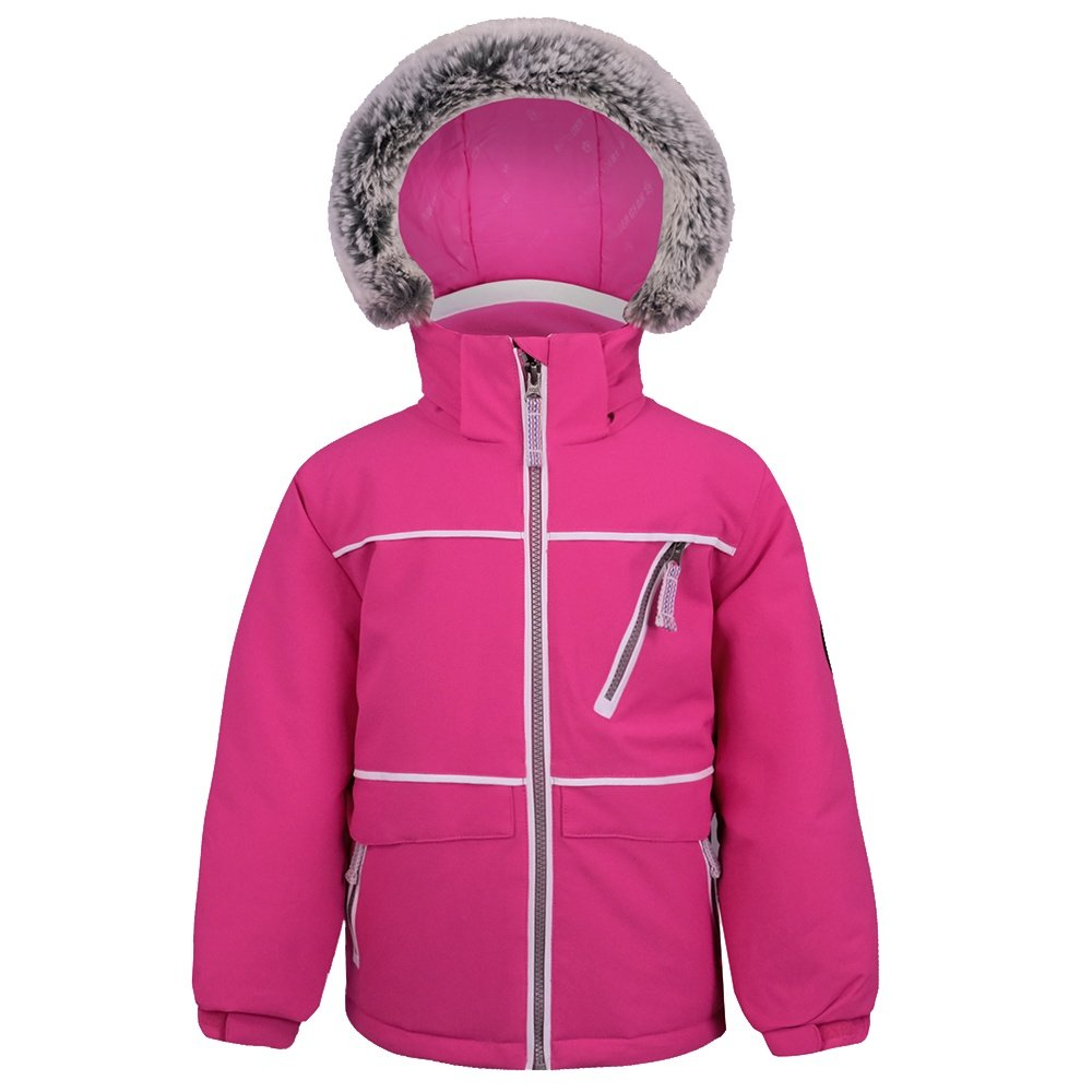 Boulder Gear Zinnia Insulated Ski Jacket (Little Girls') - Pink Dazzle