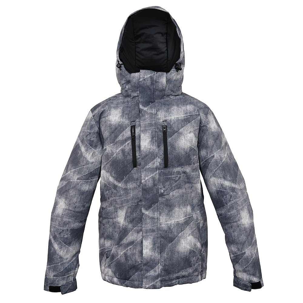 Pulse Crater Insulated Snowboard Jacket (Men's) - Black Wash