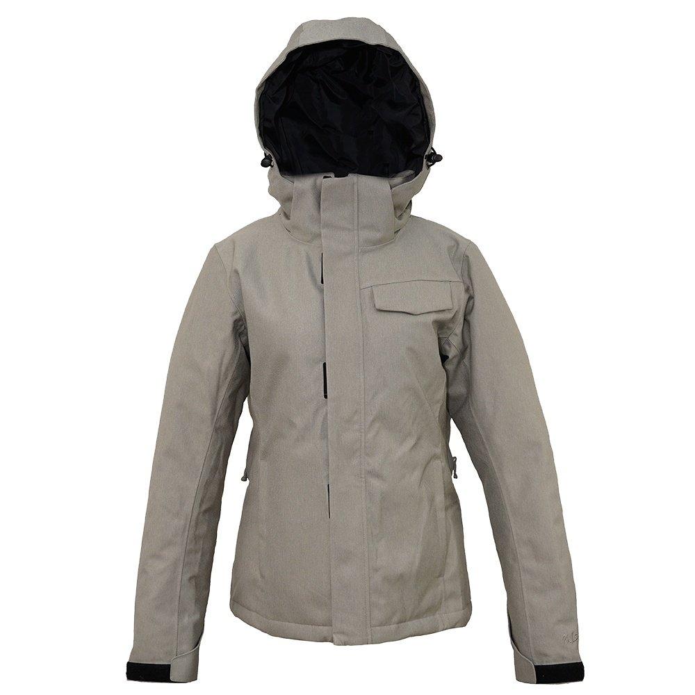 Pulse Dakota Insulated Snowboard Jacket (Women's) - Heather Grey