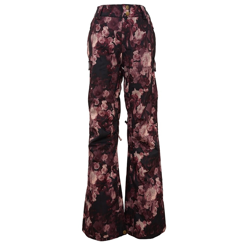 Pulse Statement Insulated Snowboard Pant (Women's) - Wine Flower