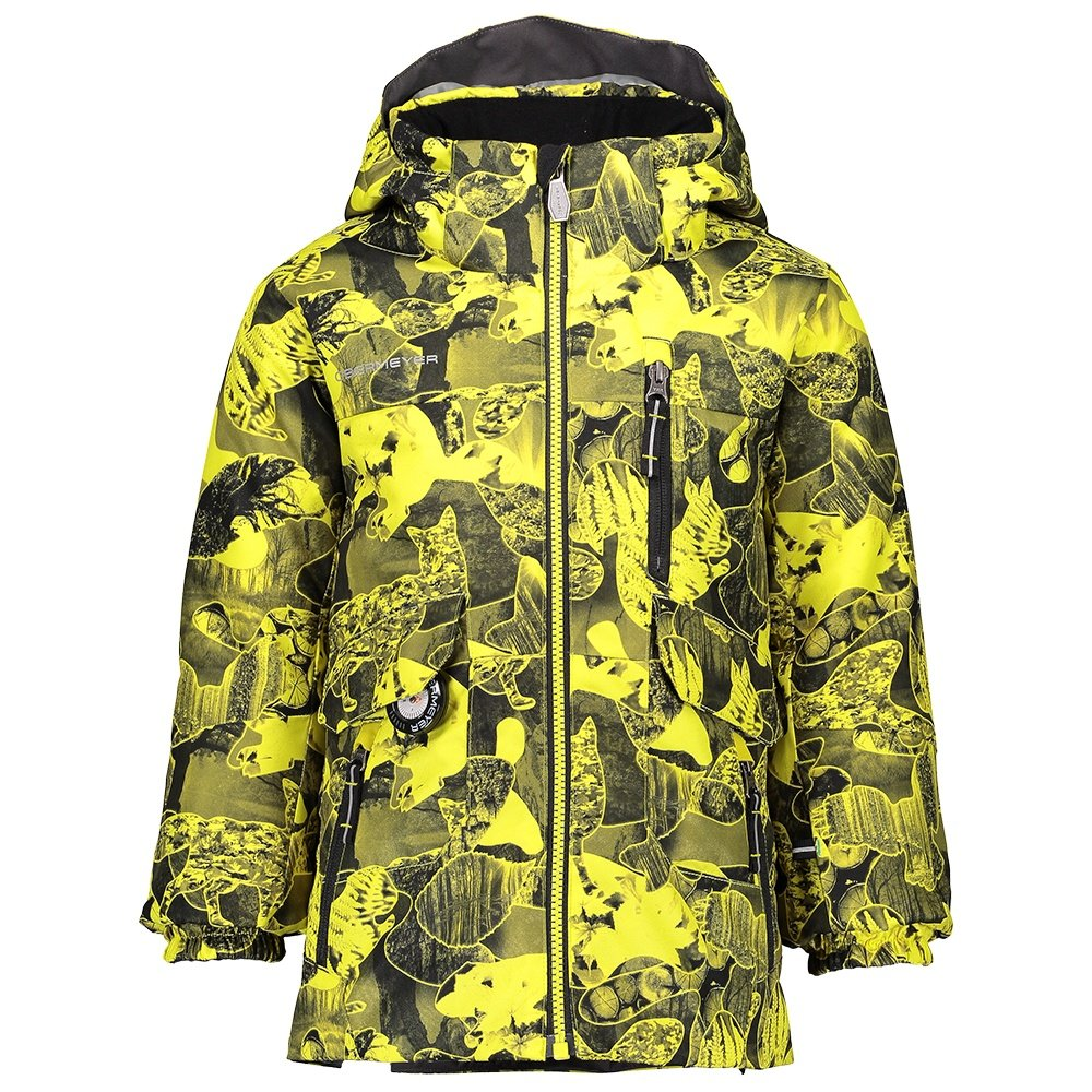 Obermeyer Nebula Insulated Ski Jacket (Little Boys') - Night Vision Camo