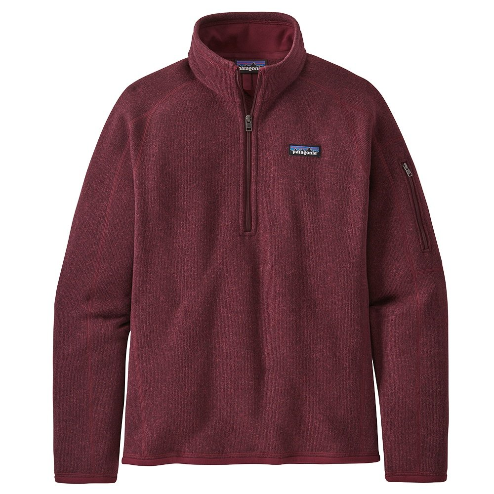 Patagonia Better Sweater 1/4 Zip Fleece Top (Women's) - Chicory Red