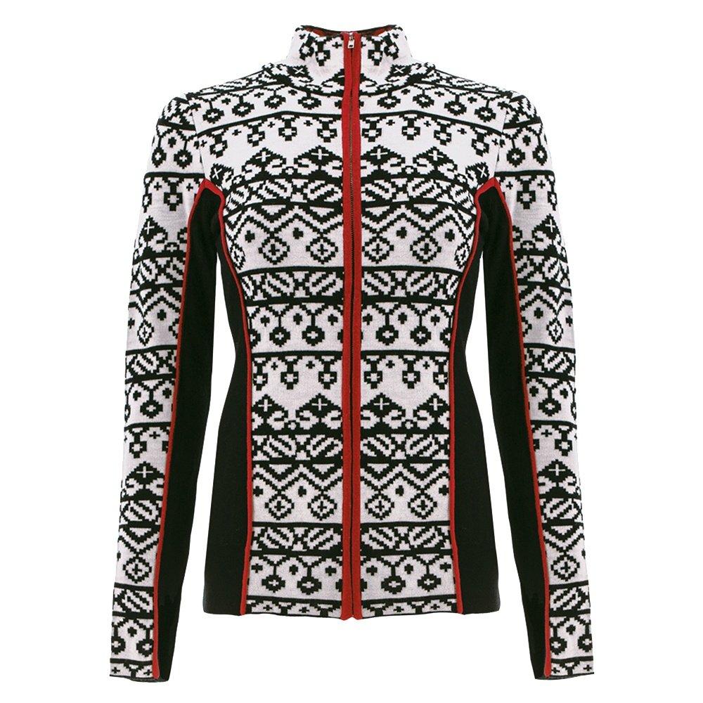 Icelandic Christie Full Zip Sweater (Women's) - White
