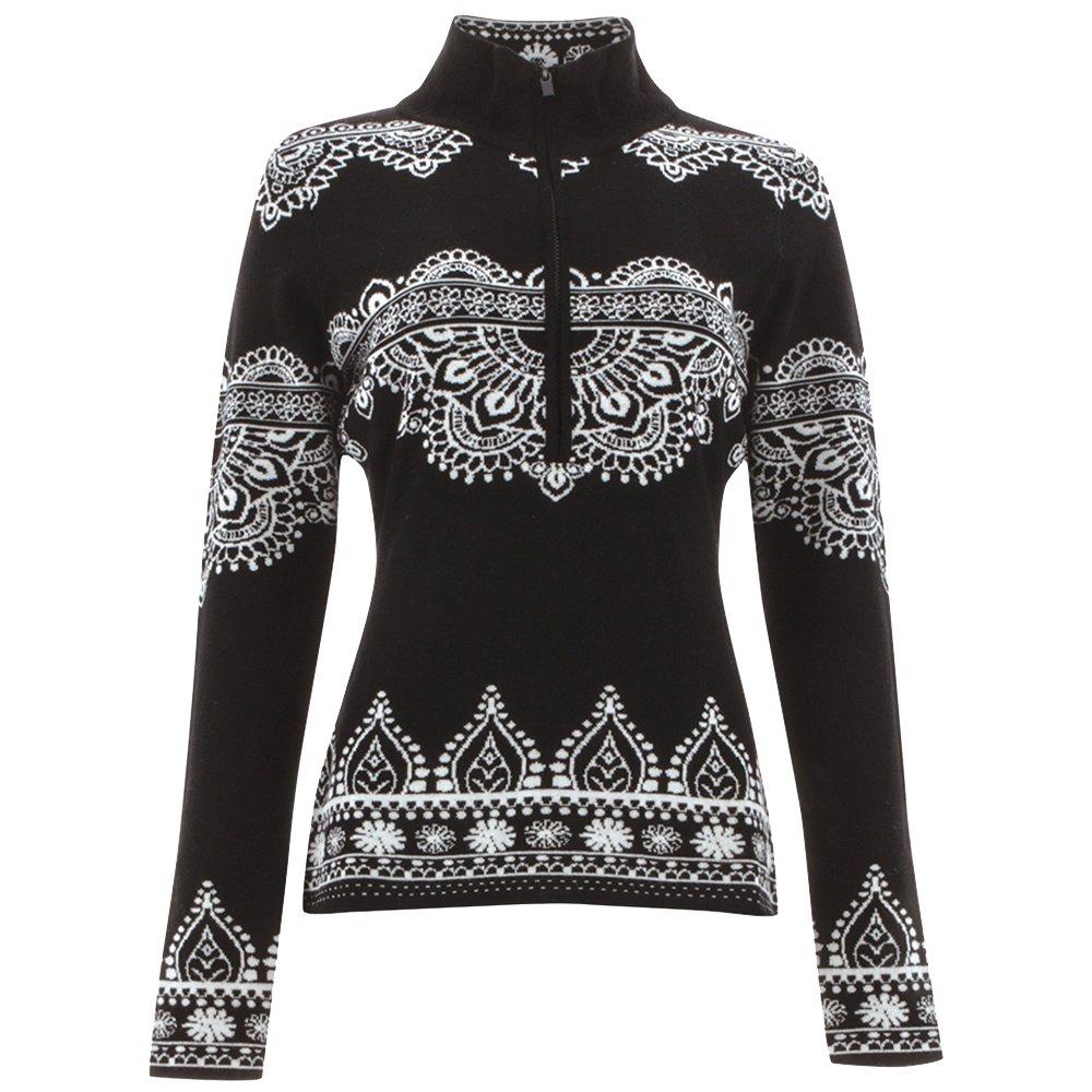Icelandic Taylor 1/2 Zip Sweater (Women's) - Black