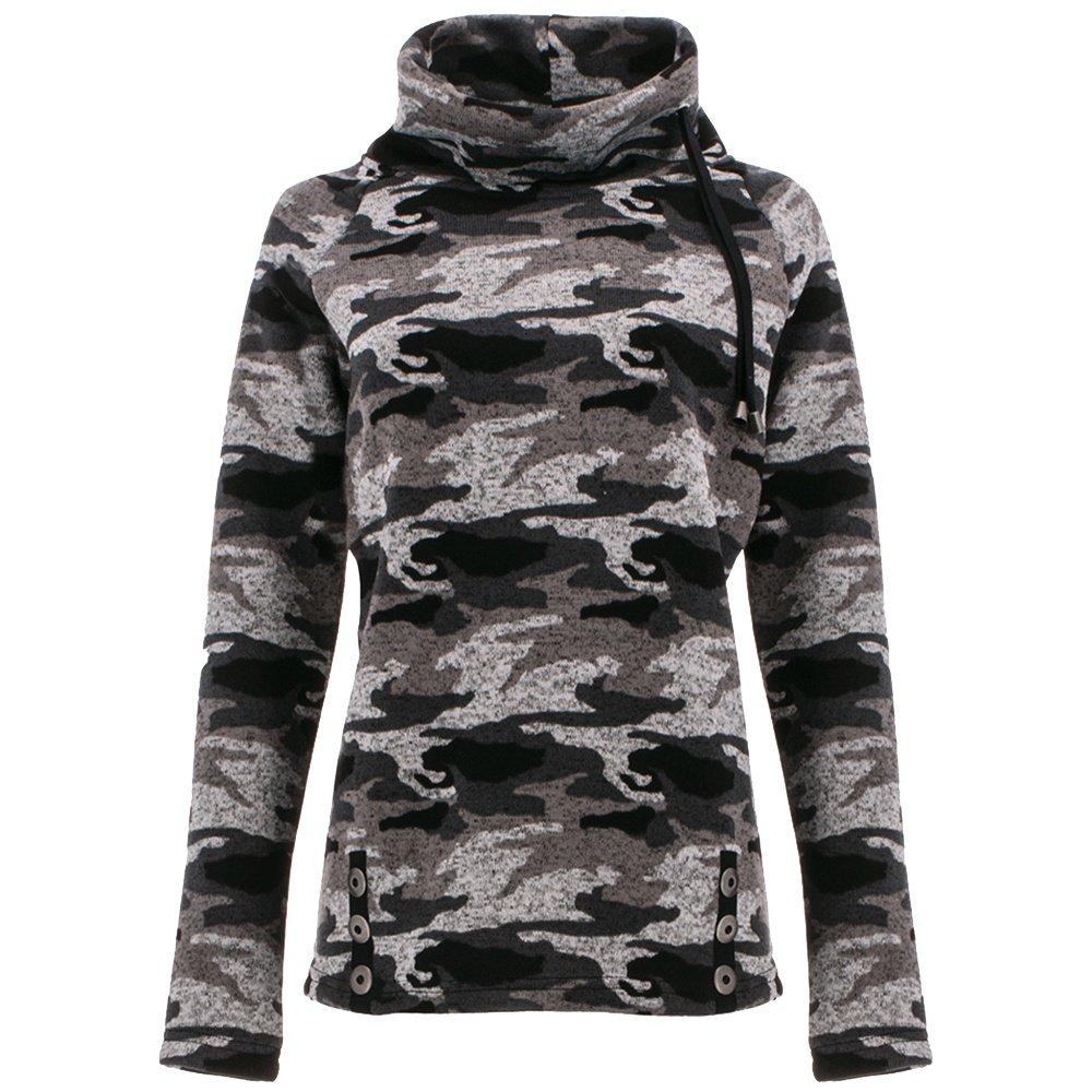 Icelandic Perfect Pullover Sweater (Women's) - Ash Camo