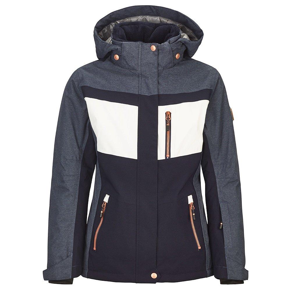 Killtec Dalis Insulated Ski Jacket (Girls') - Dark Denim/Kamille